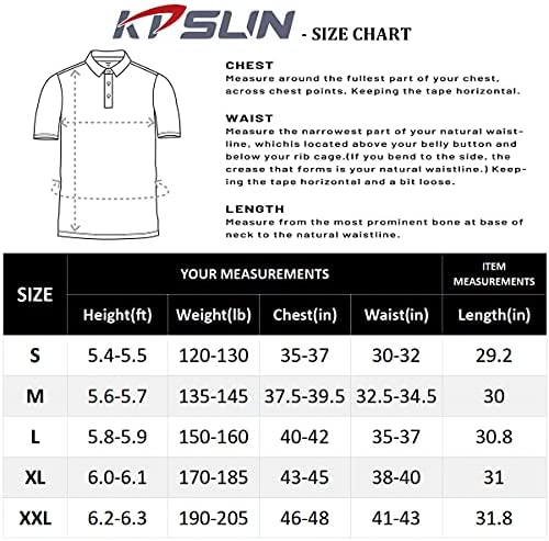 51Uq17eAmIS. AC Men's Golf Polo Shirts Short Sleeve UPF 50+ Sun Protection Quick Dry Hiking Fishing Outdoor Performance T-Shirt    KPSUN Men's Cool Sun Protection Polo Shirt