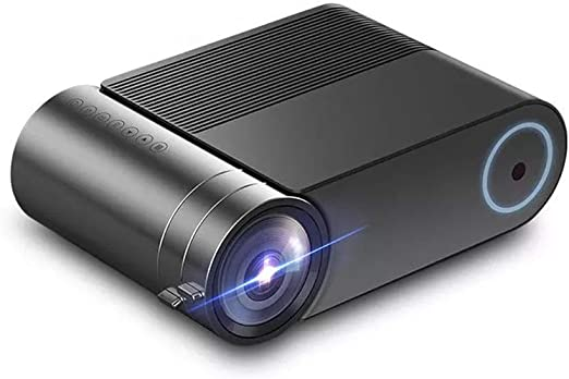 Proyector de brillo 2400 lúmenes 1920x1080 720P Mini Proyector LCD ...