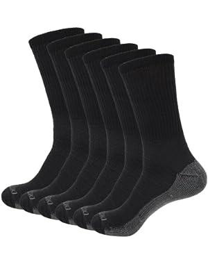 Genuine Mens 5-Pair Crew Work Socks