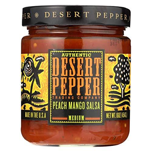 Desert Pepper Peach Mango Salsa, 16 Oz - 6 Per Case.