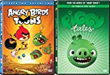 The World of Angry Birds - Piggy Tales Complete First Season & Angry Birds Season 2 - Volume 2 DVD Bundle