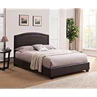 Mantua The Abbotsford Platform Bed, Brown, Queen