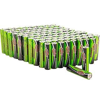 Interstate Batteries AAA Battery Alkaline 100 Pack - Workaholic (DRY7003)