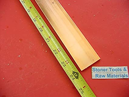 """3 Pieces 1//8/"""" x 3//4/"""" C110 COPPER BAR 12/"""" long Solid Flat Mill Bus Bar Stock H02"""