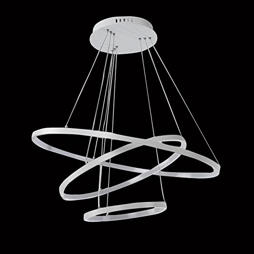 topqsc chandeliers ceiling lights white hanging pendant light