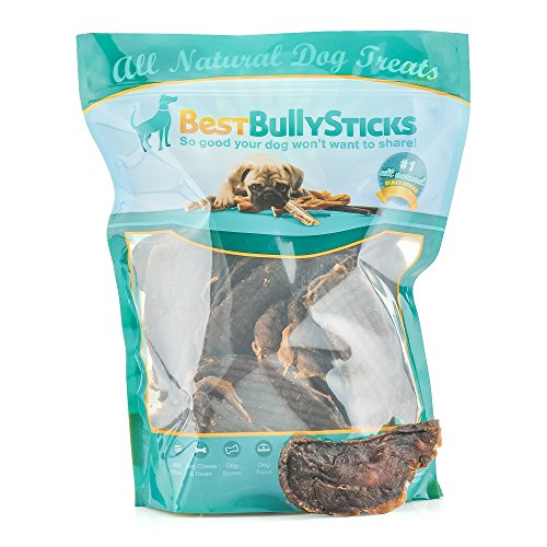 Best Bully Sticks Gourmet Turkey, Cranberry, and Blueberry Superfood Jerky Dog Treats (1lb. Bag) by