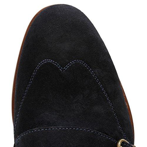 Ted Baker Rovere, Zapatos de Cordones Derby para Hombre, Canela Azul (Blue)