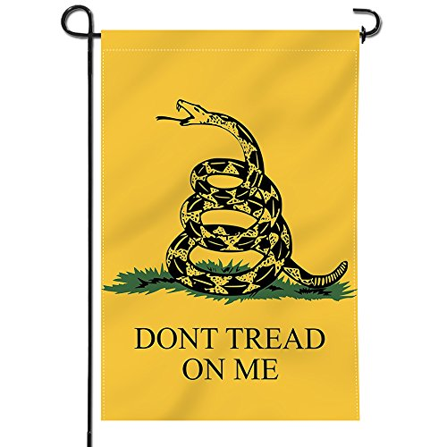 Anley  Double Sided  Premium Garden Flag, Dont Tread On Me D