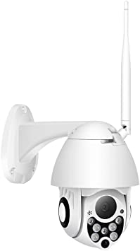 Opinión sobre 1080P cámara PTZ IP Impermeable al Aire Libre Audio de Dos vías Monitor, cámara Domo de Velocidad inalámbrico WiFi Seguridad, WH JIAJIAFUDR (Color : 32g, Size : US)