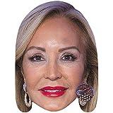 Carmen Lomana (Smile) Celebrity Mask, Card Face and Fancy Dress Mask