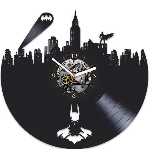 (Batman Vinyl Wall Clock, Batman New Year Gift, Vinyl Wall Clock, Batman Xmas Gift For Boy, Wall Clock Large, Batman Gift For Kids, Batman Gift For, Batman Birthday Gift For Boy, Batman Gift For Boy)