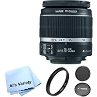 Canon EF-S 18-55mm f/3.5-5.6 IS II SLR Lens AL'S VARIETY Premium Lens Bundle Overview Review Image
