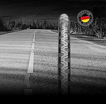 Bike A Mile Continental Grand Prix - Juego de neumáticos para Bicicleta de Carretera (4 Estaciones, Plegables, con Brazalete de Seguridad Reflectante): Amazon.es: Deportes y aire libre