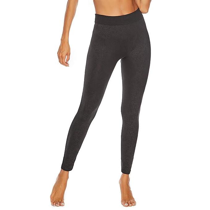 Amazon.com: Pantalones de yoga para mujer, Power Flex, con ...