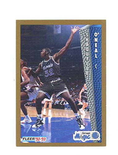 (1992-93 Fleer 401 Shaquille O'Neal Rookie Card Near Mint Condition Ships in New Holder )