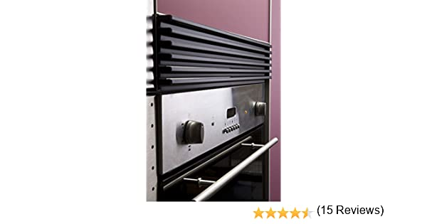 FILINOX - Rejilla Ventilaci Mueble Negra Filinox 60 Cm: Amazon.es ...