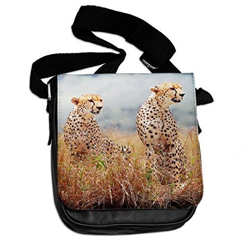 Ghepardo animale borsa a tracolla 075