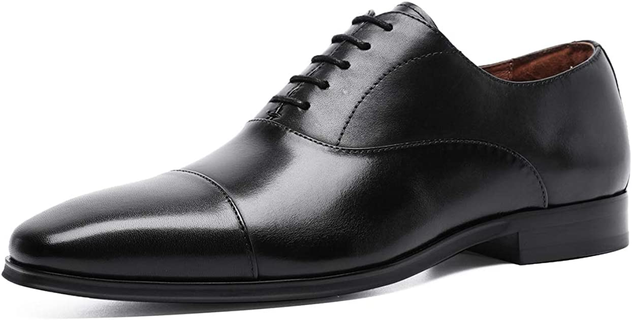 Men/'s Printing Faux Leather Lace Up Wedding Formal Dress Shoes Oxfords