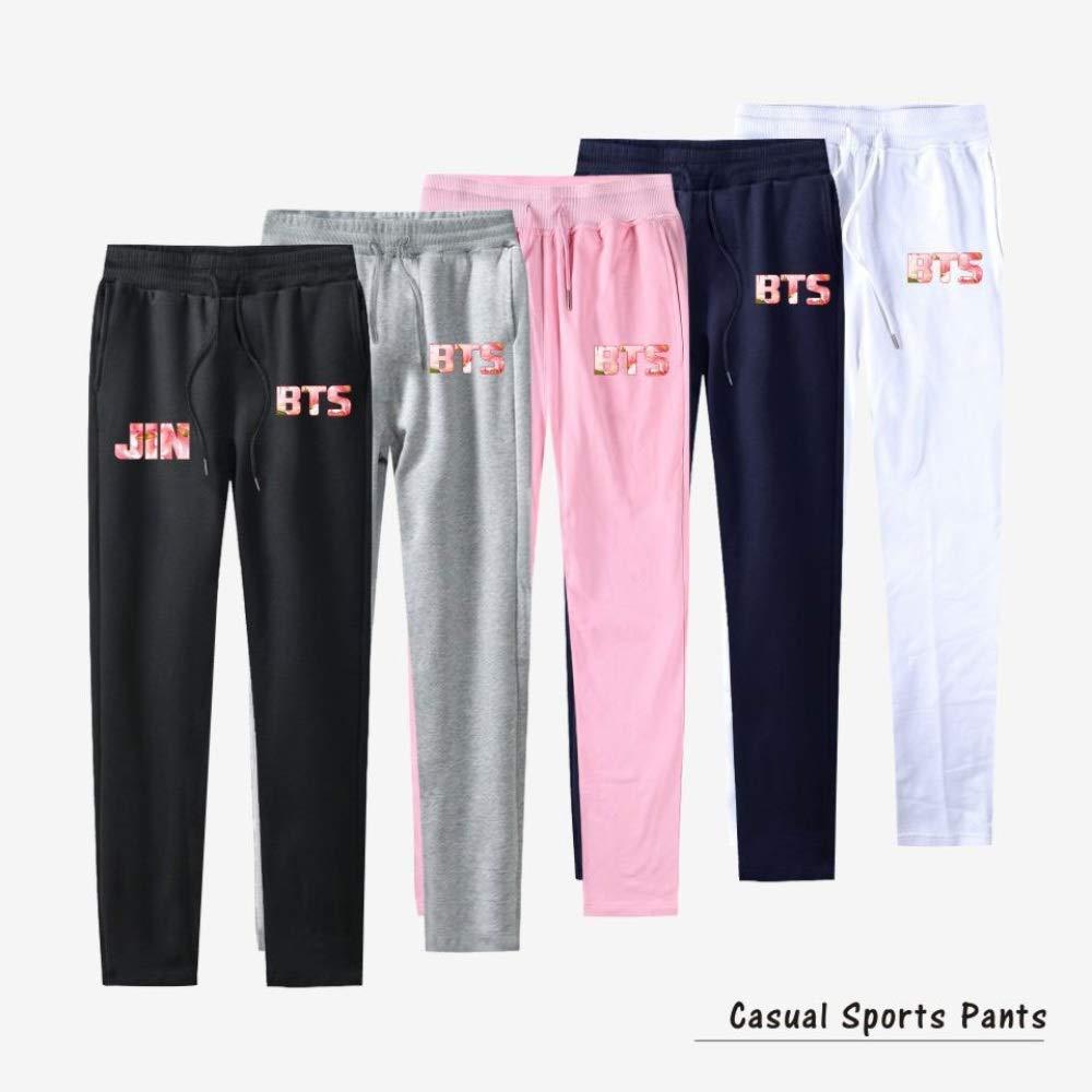 INSTO T-Shirt Moda Karl Lagerfeld Stampa Manica Corta Tee Casuale Sciolto Camiciola Multicolore Opzionale//grigio//M