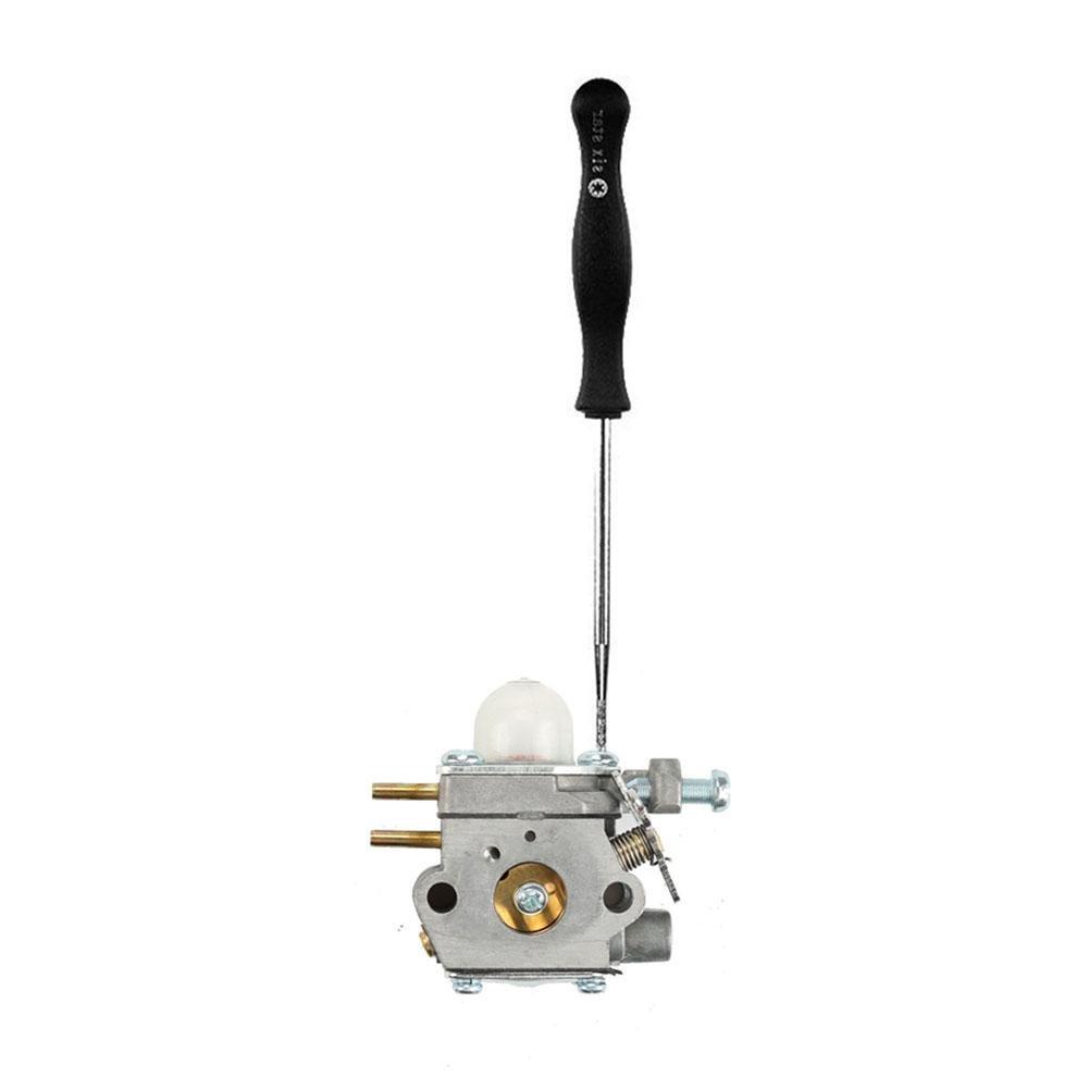 herramientas de ajuste para el motor de del carburador de 2 normal Juego de herramientas de ajuste de carburador 8 con agujas de limpieza y funda de transporte