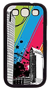 Samsung Galaxy S3 I9300 Case,Samsung Galaxy S3 I9300 Cases - City of Color PC Polycarbonate Hard Case Back Cover for Samsung Galaxy S3 I9300¨CBlack