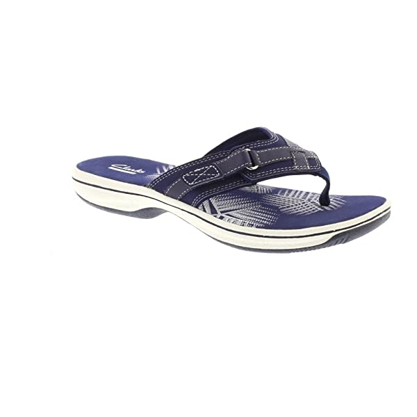 7c6d141d0660 Clarks Brinkley Sea - Navy Synthetic (Textile) Womens Sandals 7 UK ...