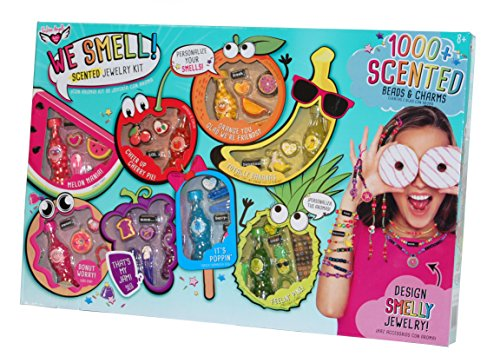 Bead Shop Fashion Angels (Fashion Angels Scented Jewelry Kit 1000+ Scented Beads & Charms - 8 Different Scents)