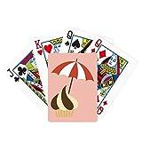Sunshade Chocolate Sweet Ice Cream Poker Playing Card Tabletop Board Game Gift