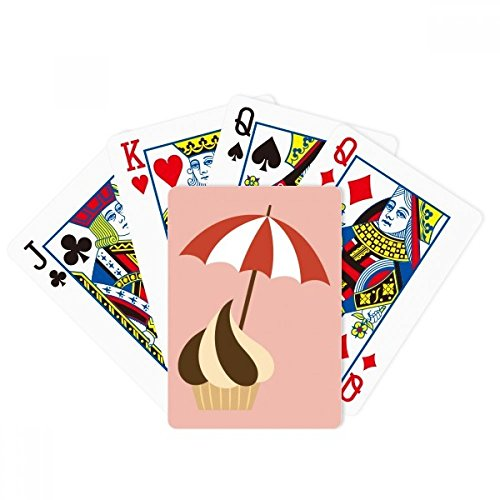 Sunshade Chocolate Sweet Ice Cream Poker Playing Card Tabletop Board Game Gift by beatChong