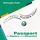 Passport to Algebra and Geometry, , 0395931592