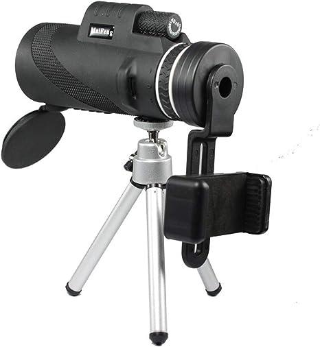 monocular 40x60 Prism/áticos Potente Zoom Gran visi/ón Nocturna HD Militar Profesional de Caza KAR Telescopio de Mano