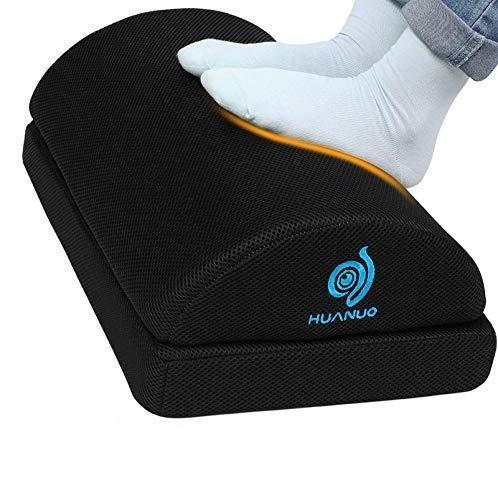Huanuo Ergonomic Adjustable Foot Rest (Black)