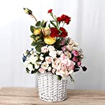 BESTOYARD-10-Pcs-Flower-Bunches-Bouquet-Artificial-Silk-Single-Stem-Fake-Plants-Simulation-Flowers-for-Party-Wedding-Home-Decoration-Champagne