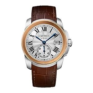 Cartier Calibre De Cariter 18kt Rose Gold Mens Watch W2CA0002