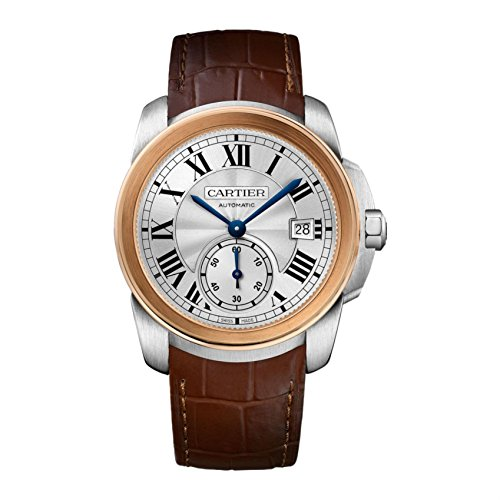Cartier Calibre De Cariter 18kt Rose Gold Mens Watch W2CA0002