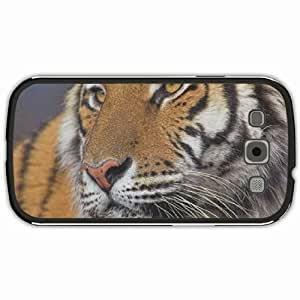 New Style Customized Back Cover Case For Samsung Galaxy S3 Hardshell Case, Black Back Cover Design Help Tiger WwwWwfAt Personalized Unique Case For Samsung S3