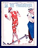 La Vie Parisienne - Samedi 22 Aout 1925. Art Deco/Nouveau. Illustrations by Cheri Herouard, Georges Leonnec, Henry Fournier, Henri Avelot, Maurice Milliere, Georges Pavis, and others uncredited