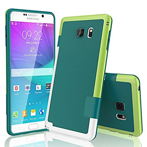 Galaxy Note 5 Case, TILL(TM) Ultra Slim 3 Color Hybrid Impact Anti-slip Shockproof Soft TPU Hard PC Bumper Extra Front Raised Lip Case Cover for Samsung Galaxy Note 5 V SM-N920 - Lip Cell Phone Case