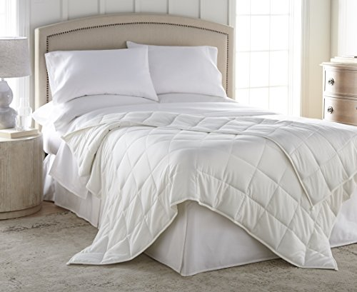 Harmonia Weighted Blanket Adult 20 lbs With Duvet Cover :: Cotton Shell, Glass Bead Fill, 60