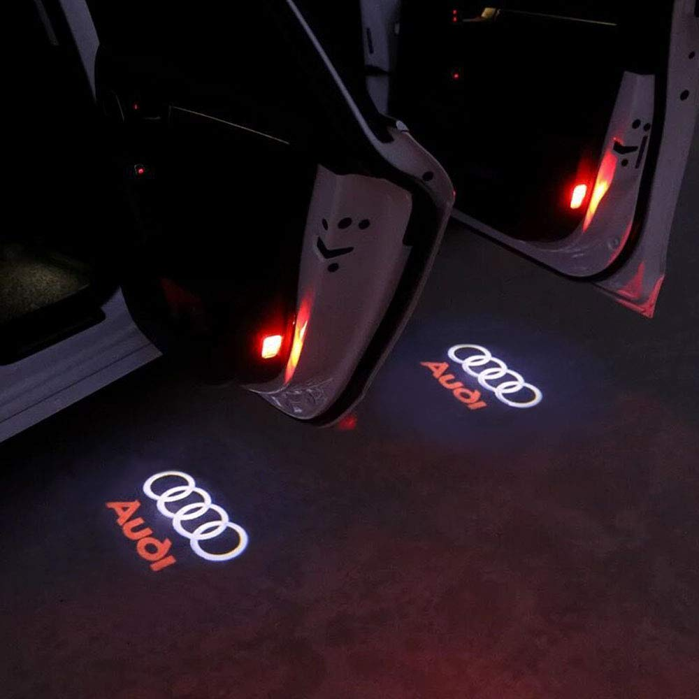 Car Door Light Ghost Shadow Light Logo Projector URAQT Car Door Welcome Light LED Auto Door Courtesy Step Ghost Shadow projector lights,Benz 2 Pcs Car Door Lights Logo LED