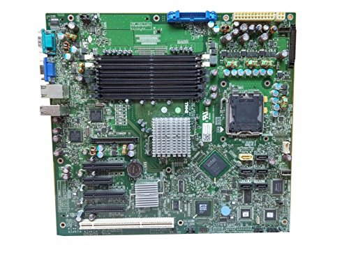 Dell PowerEdge T300 DDR2 SDRAM 6 Memory Slots 4 USB Ports LGA 775/Socket T PCI Express Server MotherBoard TY177 0TY177 CN-0TY177