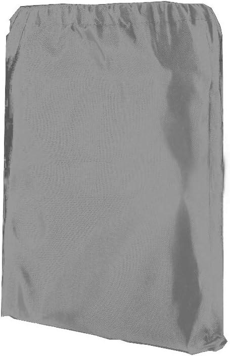 Abdeckung f/ür Gartenbank 2 Sitzer aus Oxford Stoff Rei/ßfest Wasserdicht Anti-UV 147 * 83 * 79cm Schwarz