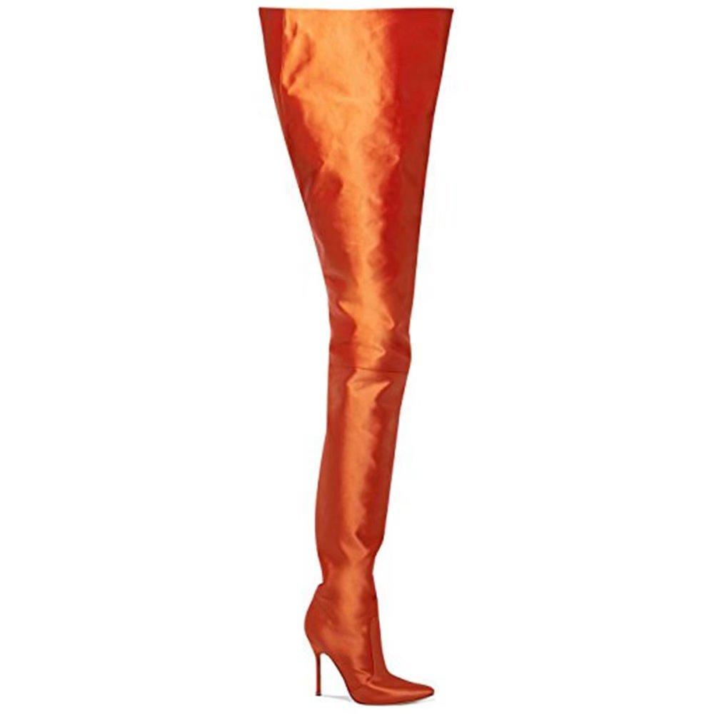 Dgtek Bottes Femme Pour Femme 19805 Orange Orange 22c78b5 - fast-weightloss-diet.space