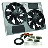 Derale 16927 High Output Dual Radiator Fan