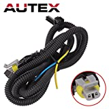 AUTEX 1pcs ABS Wheel Speed Sensor Wire(Front) 970-040 N15002 compatible w/ 2001 2002 2003 2004 2005 Buick Century 2000 2001 2002 2003 2004 2005 Cadillac DeVille 2006 2007 2008 2009 Chevrolet Uplander