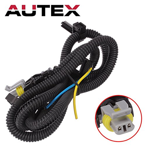 AUTEX 1pcs ABS Wheel Speed Sensor Wire(Front) 970-040 N15002 Compatible with Buick Century 2001 2002 2003 2004 2005/Cadillac DeVille 2000 2001 2002 2003 2004 2005/Chevrolet Uplander 2006 2007 08 09 (Wire Abs Harness)