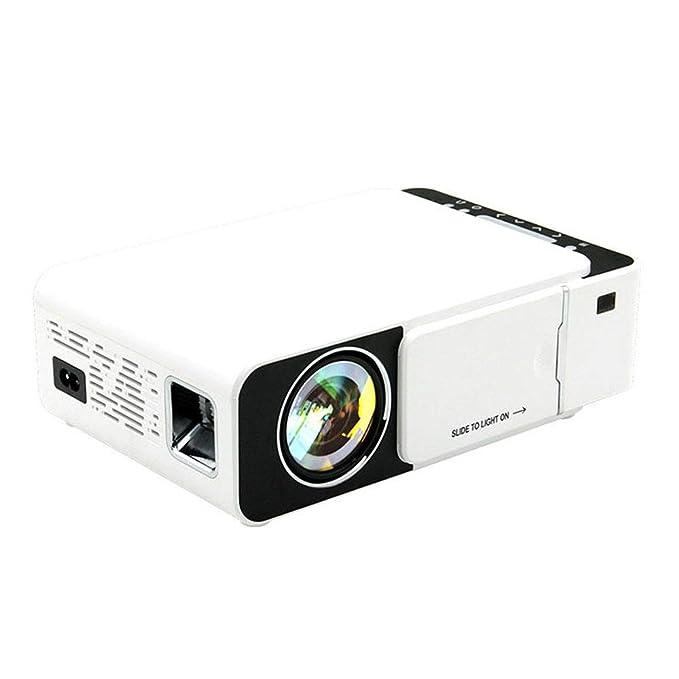 Proyector 100 lúmenes ANSI 800x480 1080P proyector de cine en casa ...