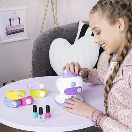 Cool Maker GO Glam Nail Salon for Manicures and Pedicures with 5 Patterns and Nail Dryer