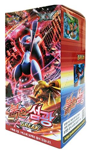 Pokemon Cards Break Booster Korean