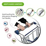 Universally Fit Hygienic Grocery Shopping Cart